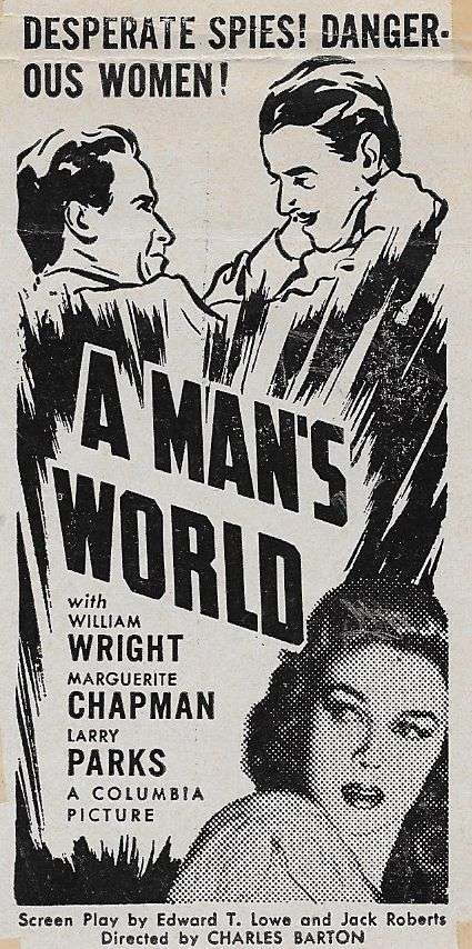A Man's World kapak