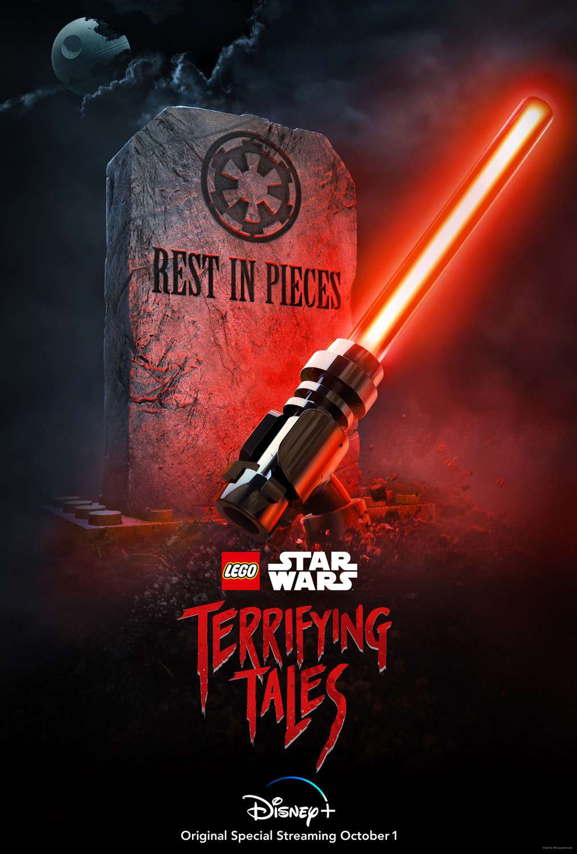 Lego Star Wars Terrifying Tales kapak