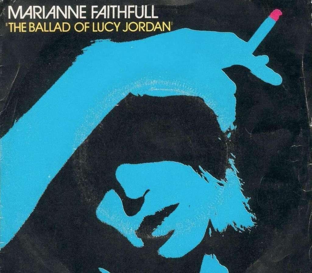 Marianne Faithfull: The Ballad of Lucy Jordan kapak