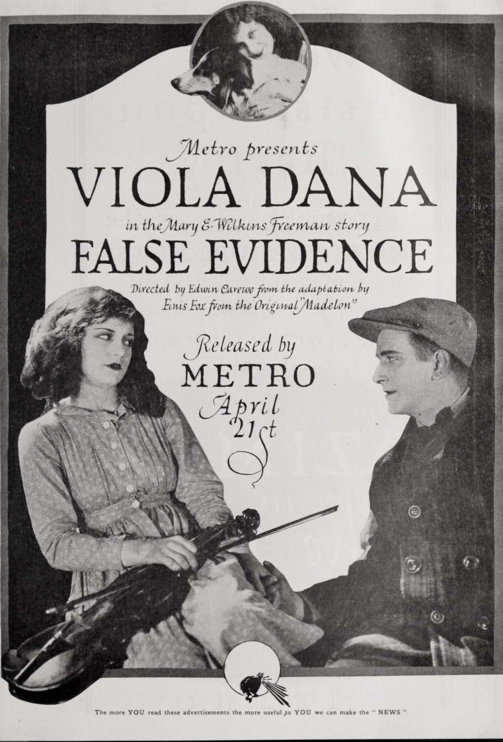 False Evidence kapak