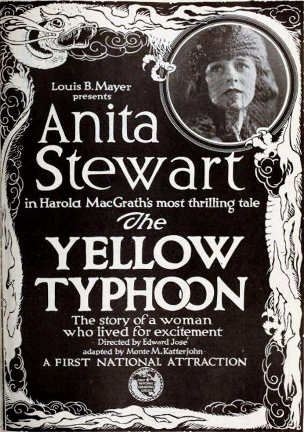 The Yellow Typhoon kapak