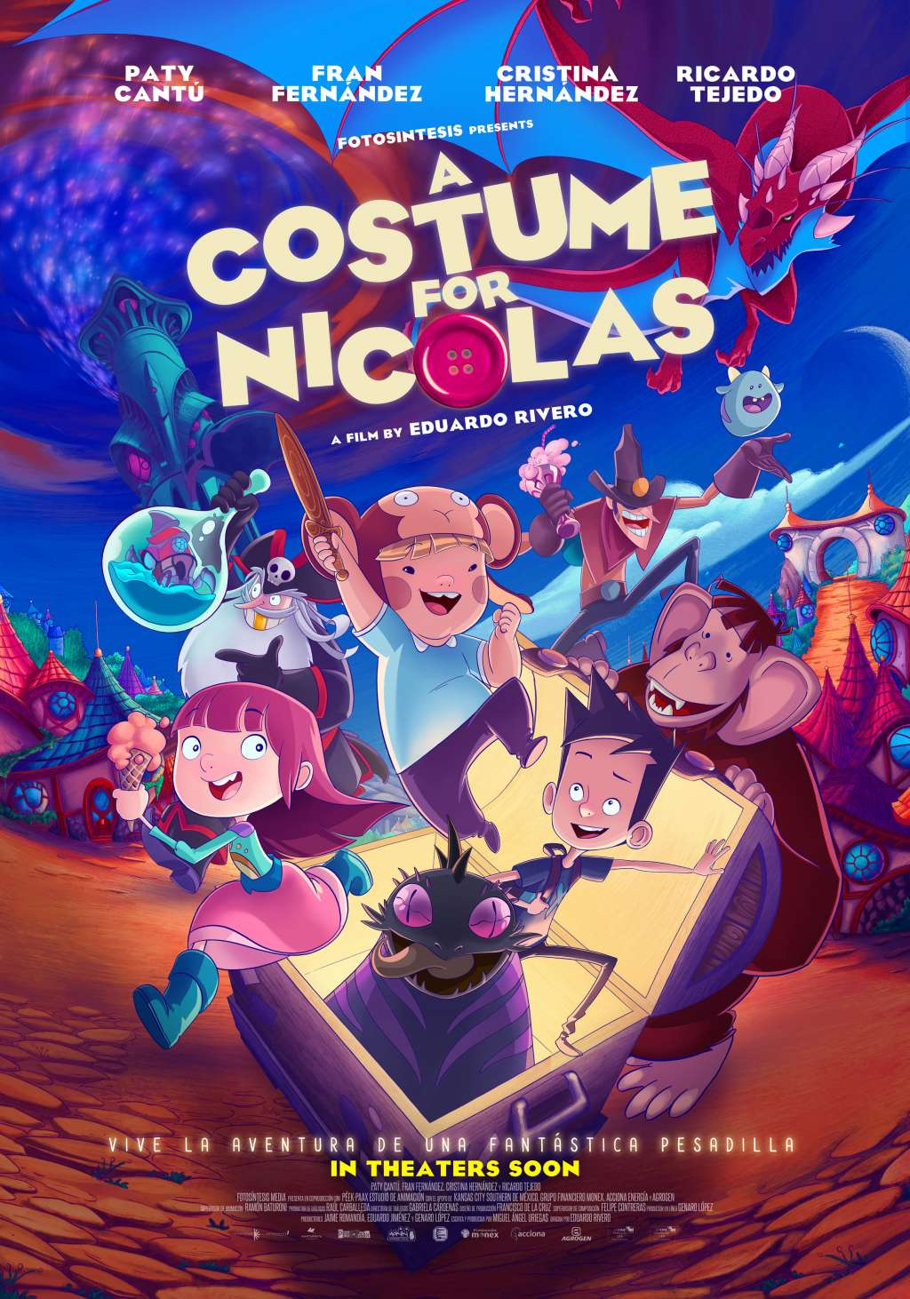 A Costume for Nicholas kapak