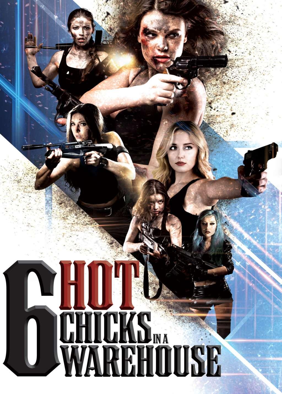 Six Hot Chicks in a Warehouse kapak