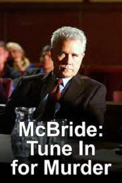McBride: Tune in for Murder kapak