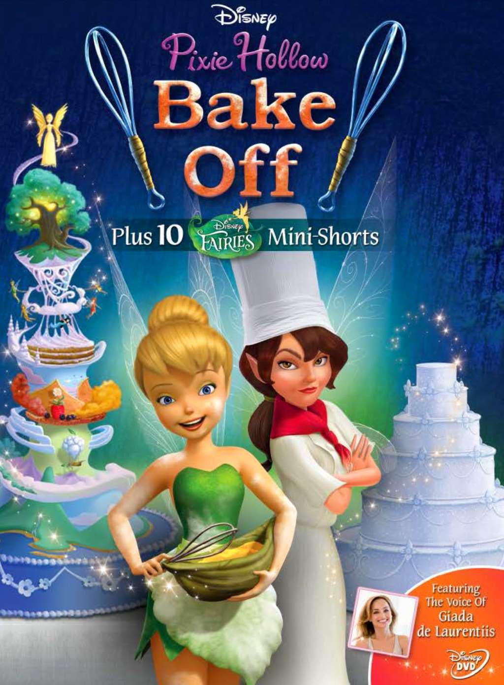 Pixie Hollow Bake Off kapak