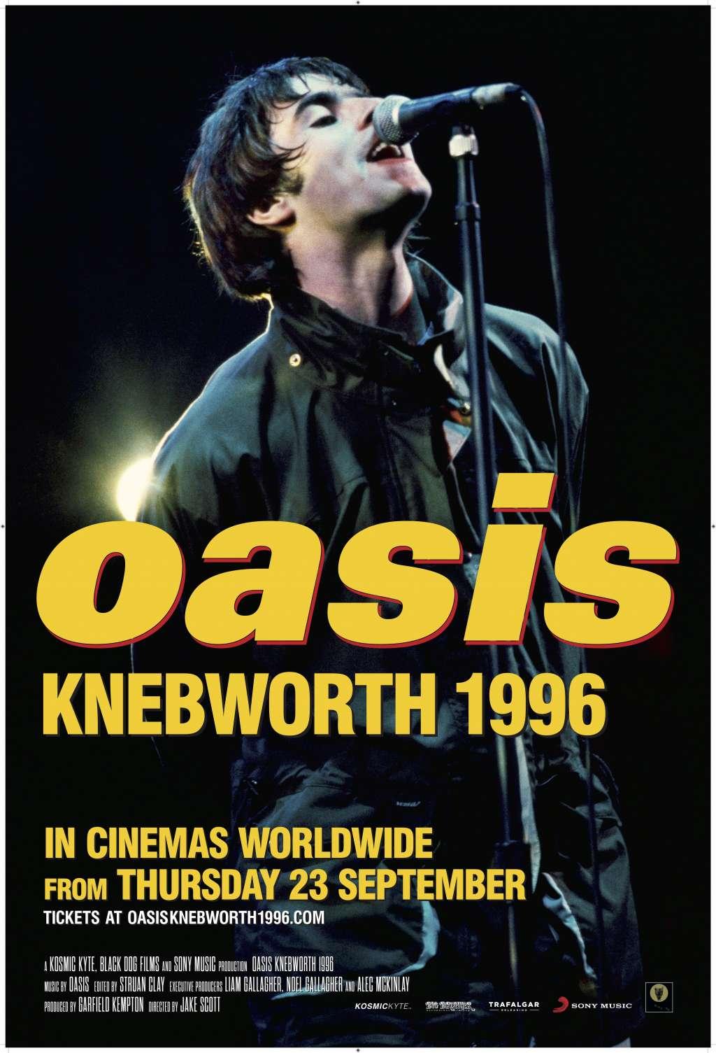 Oasis Knebworth 1996 kapak