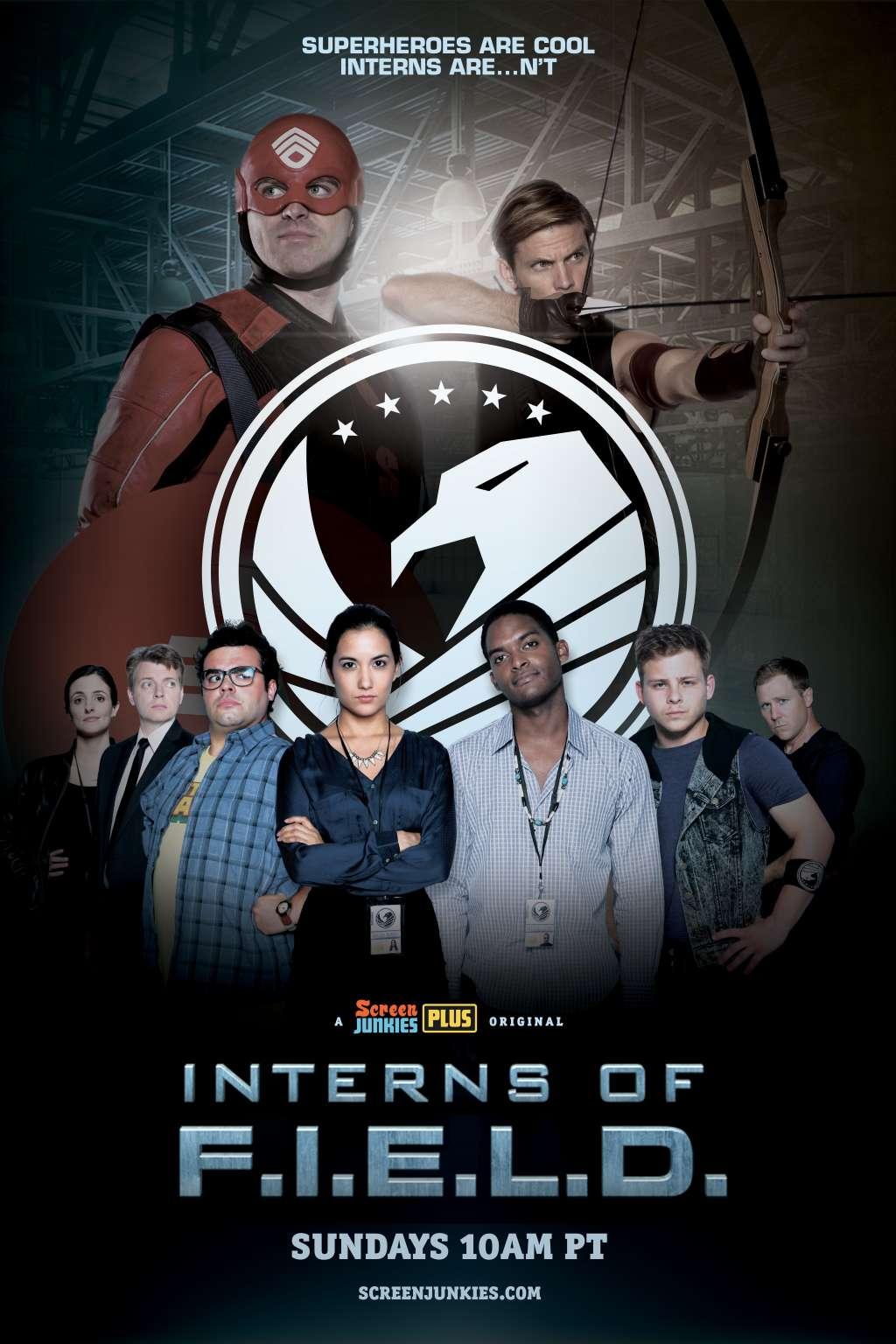 Interns of F.I.E.L.D. kapak