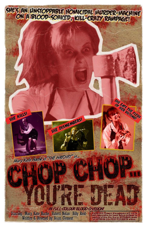Chop Chop... You're Dead kapak