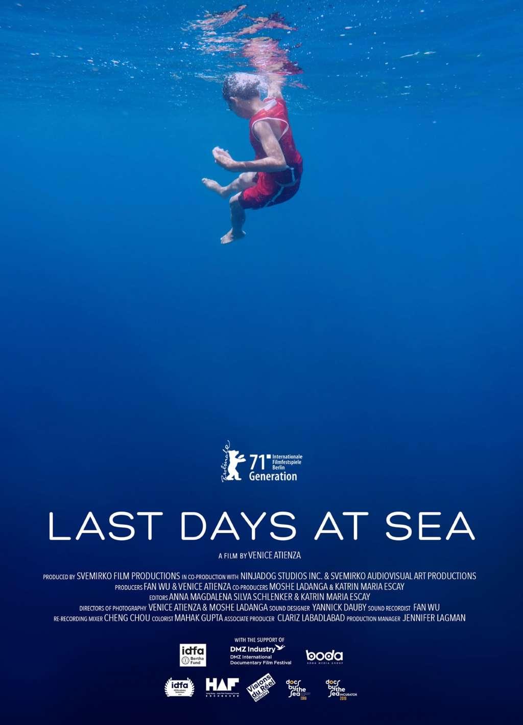 Last Days at Sea kapak