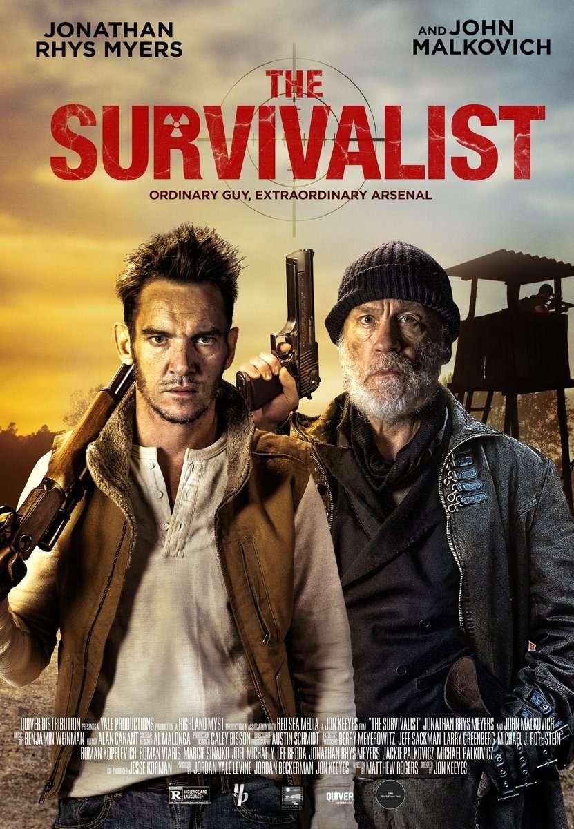 The Survivalist kapak