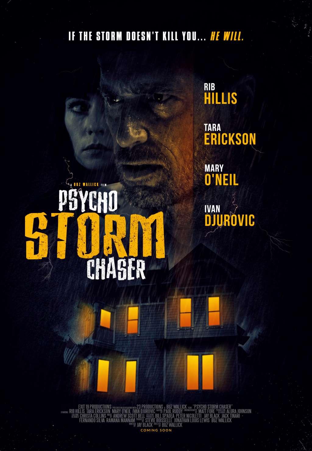 Psycho Storm Chaser kapak