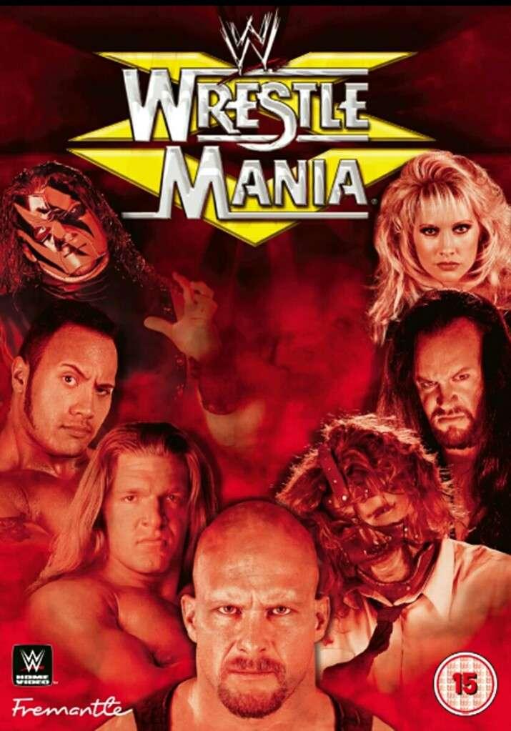WrestleMania XV kapak