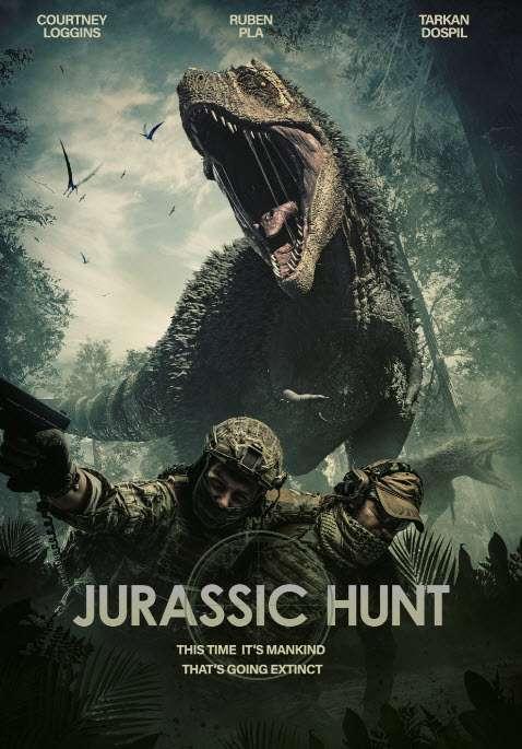 Jurassic Hunt kapak