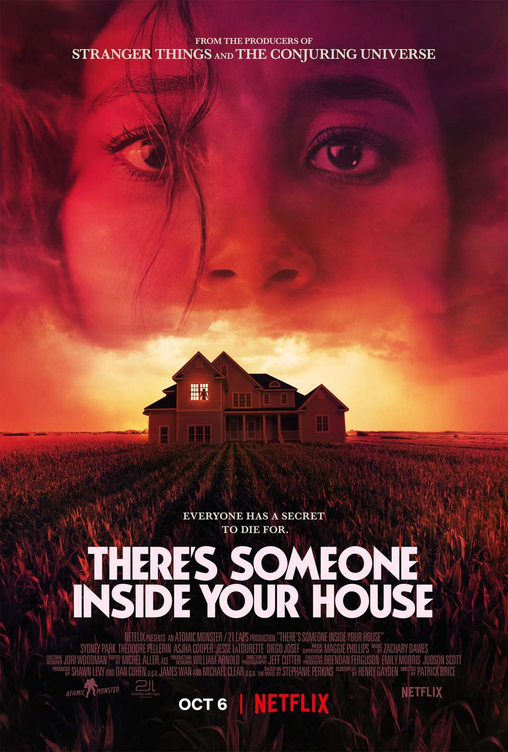 There's Someone Inside Your House kapak