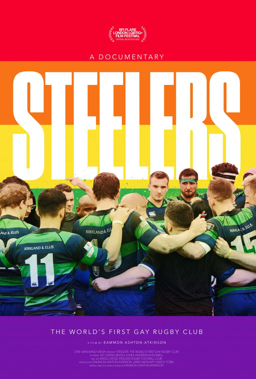 Steelers: The World's First Gay Rugby Club kapak