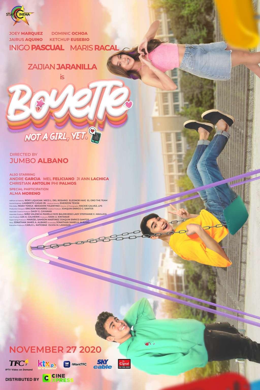 Boyette: Not a Girl Yet kapak