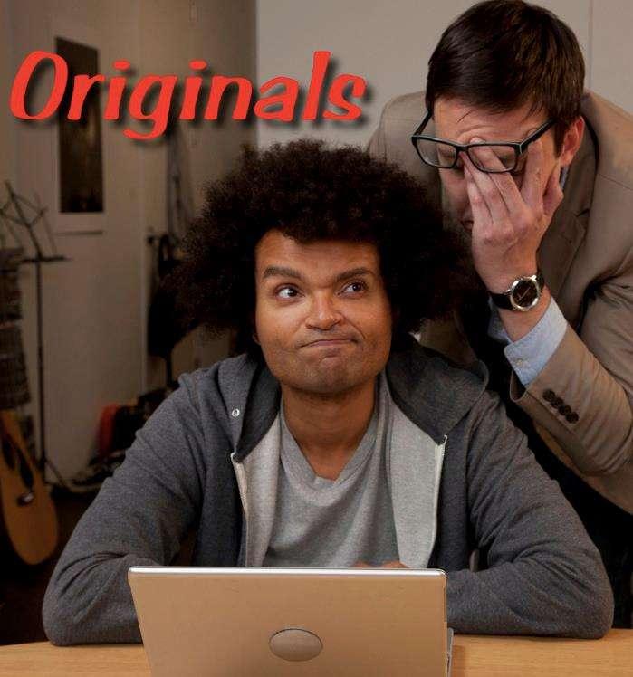 Originals kapak