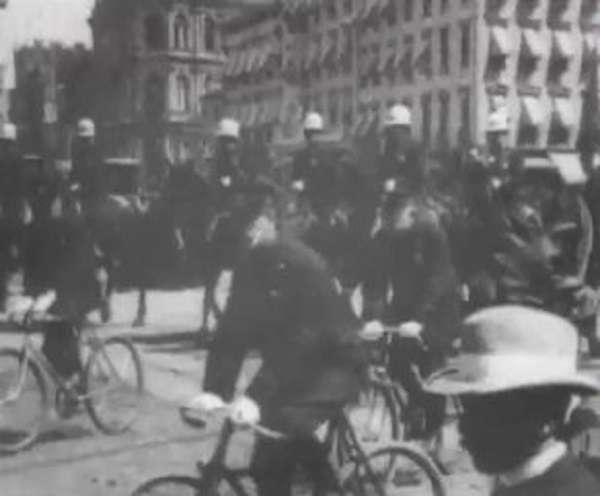 New York Police Parade, June 1st, 1899 kapak