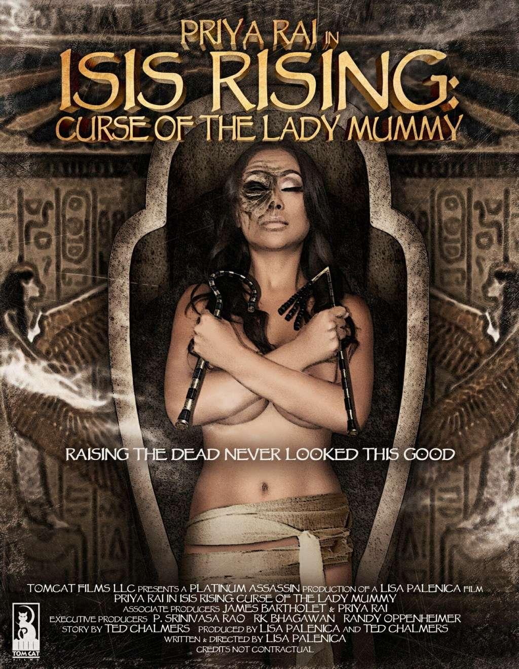 Isis Rising: Curse of the Lady Mummy kapak