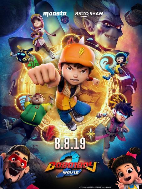 BoBoiBoy Movie 2 kapak