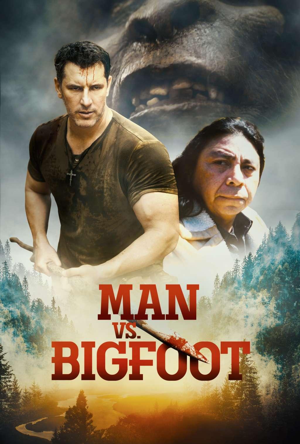 Man vs Bigfoot kapak