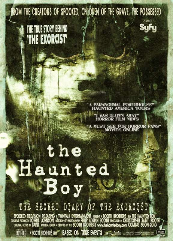 The Haunted Boy: The Secret Diary of the Exorcist kapak