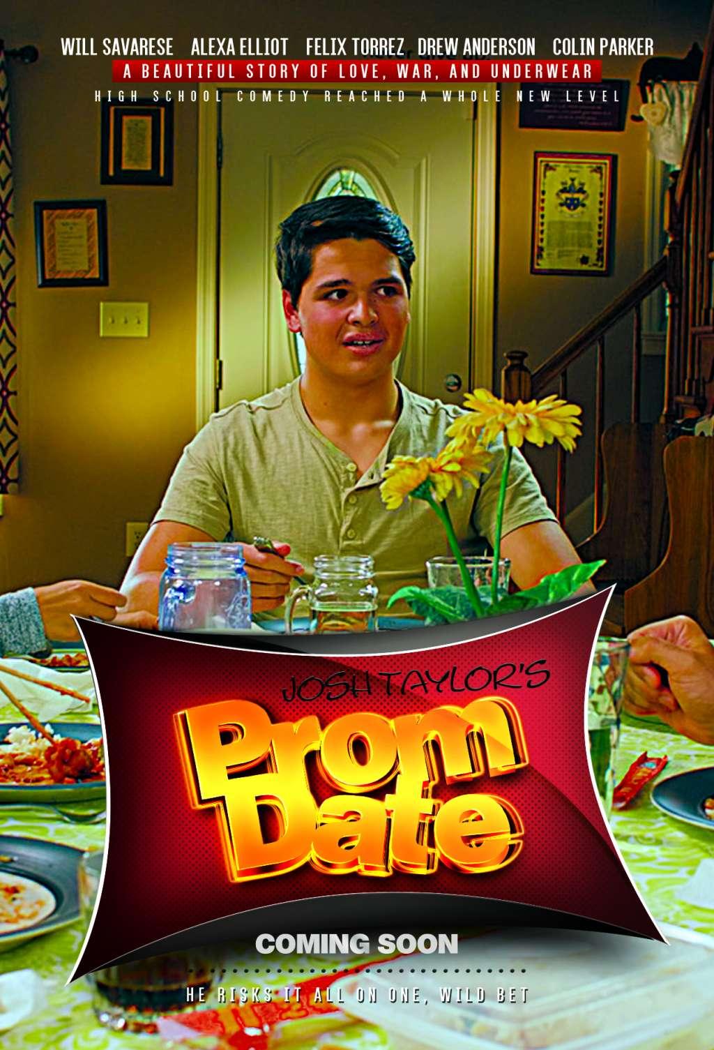 Josh Taylor's Prom Date kapak