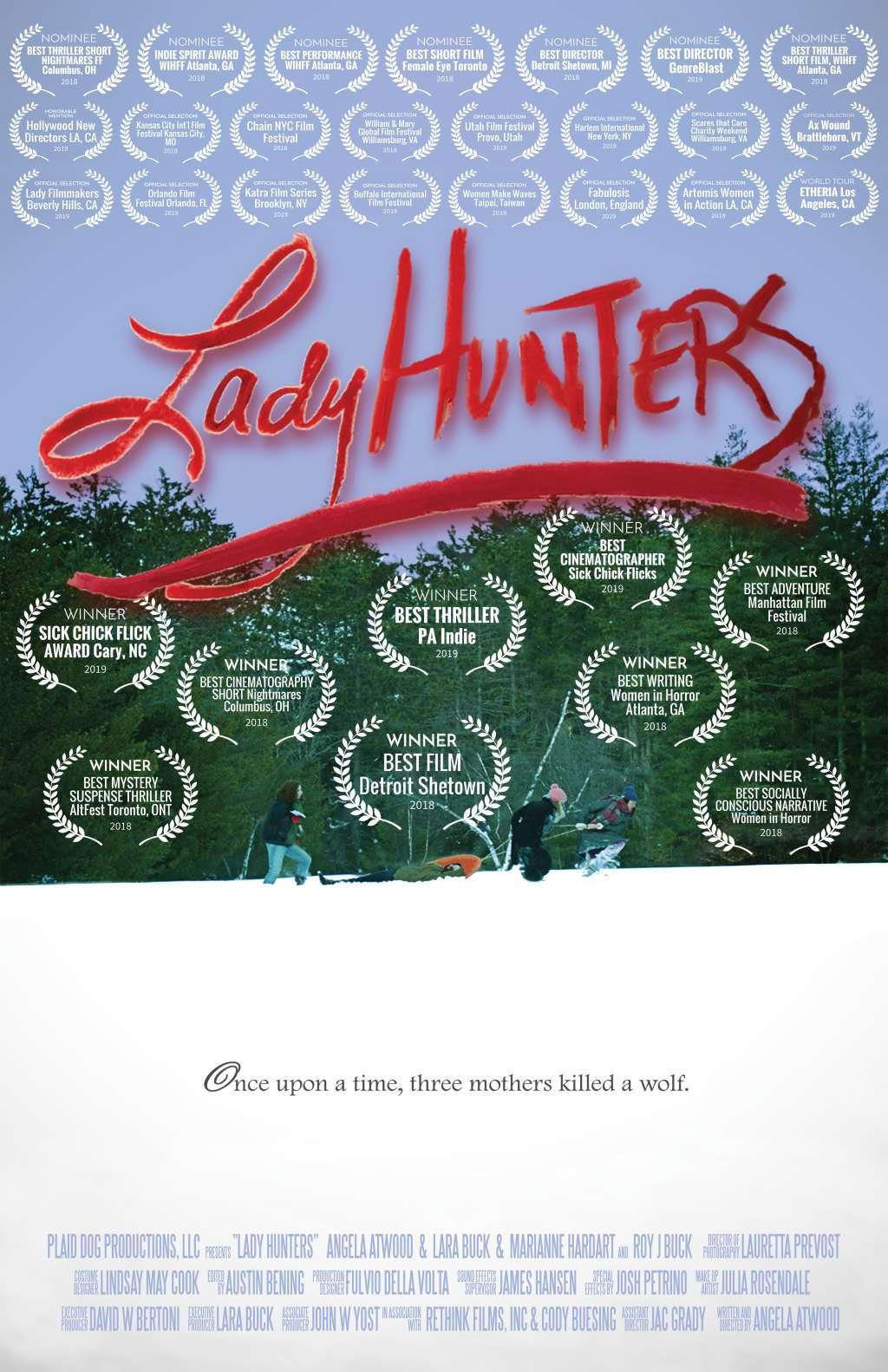 Lady Hunters kapak