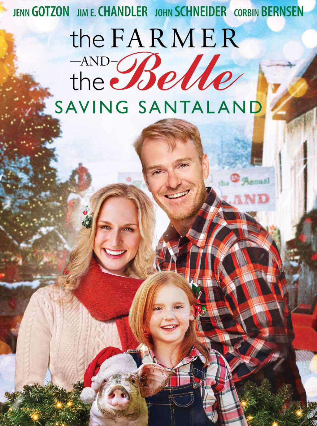 The Farmer and the Belle: Saving Santaland kapak