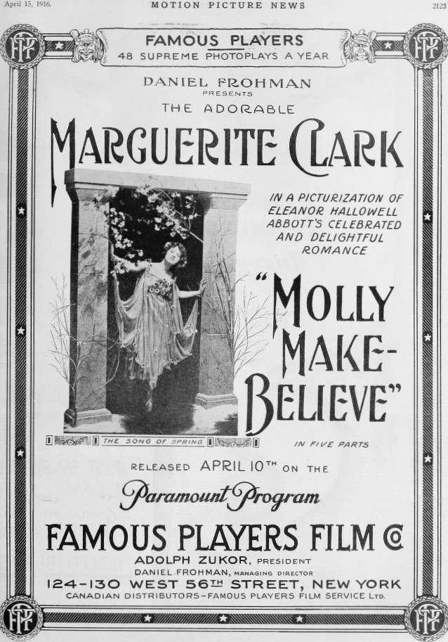 Molly Make-Believe kapak