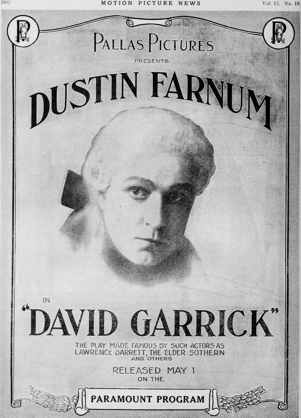 David Garrick kapak