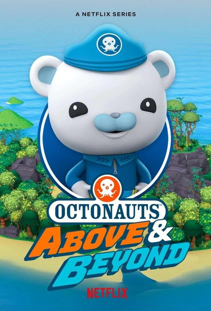 Octonauts: Above & Beyond kapak