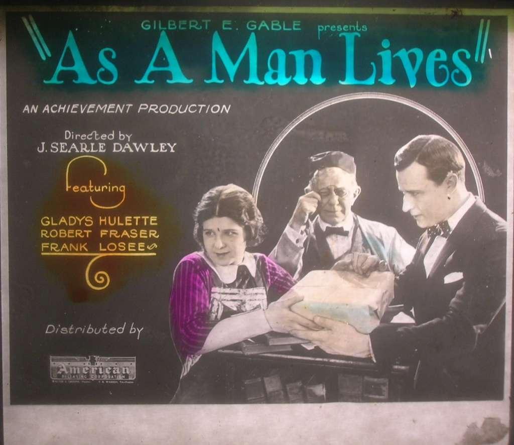 As a Man Lives kapak