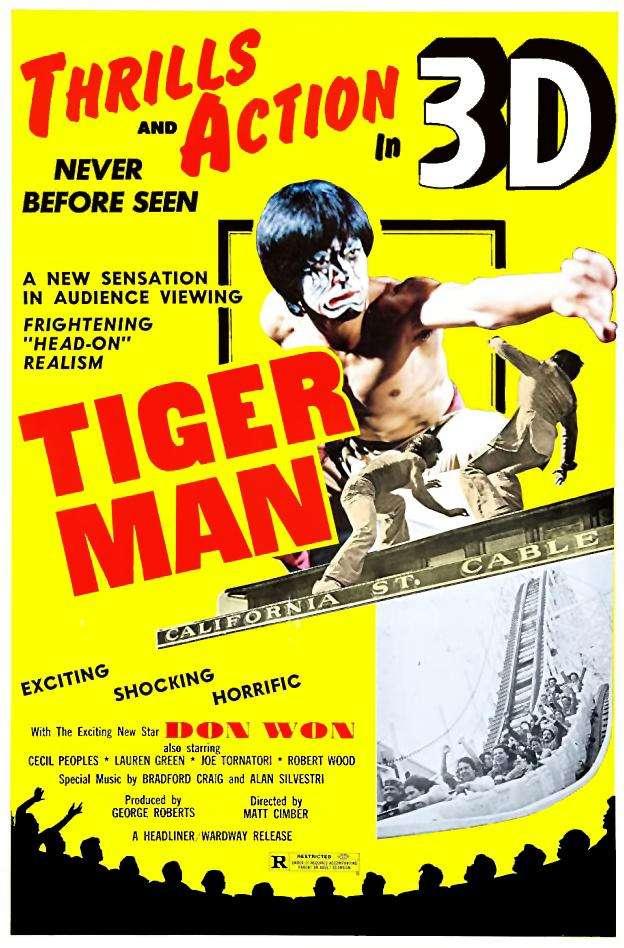 Tiger Man kapak