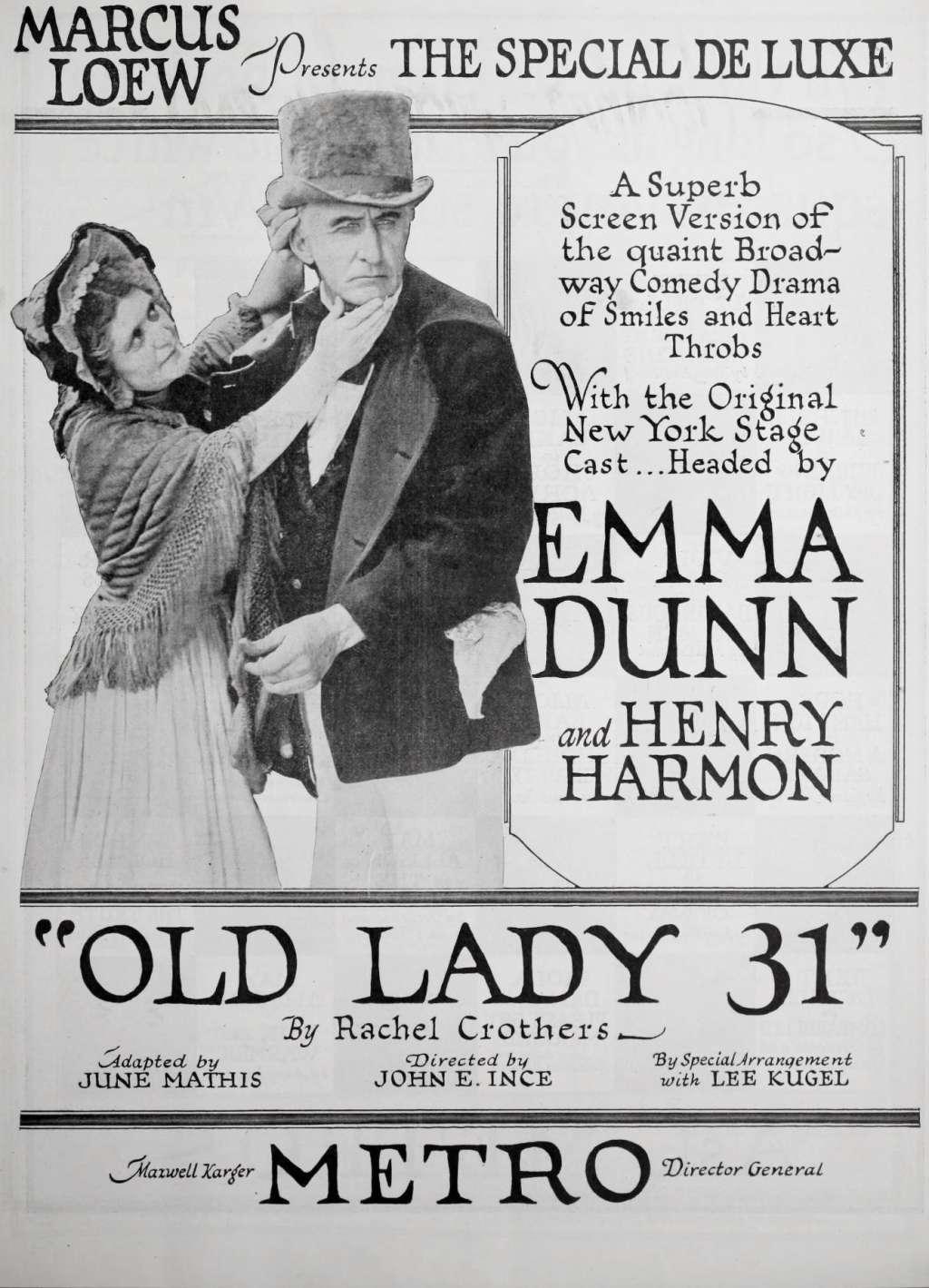 Old Lady 31 kapak