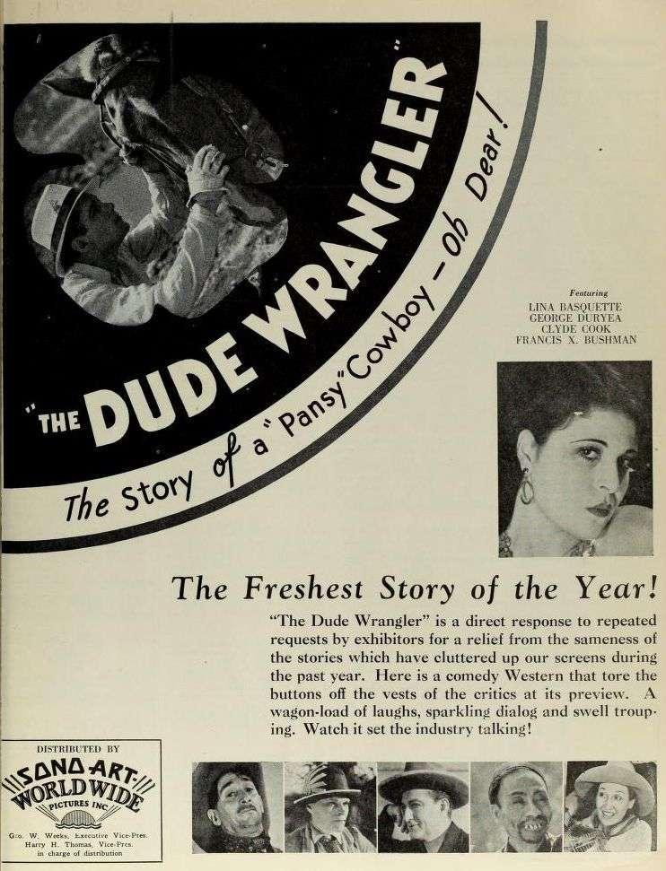 The Dude Wrangler kapak