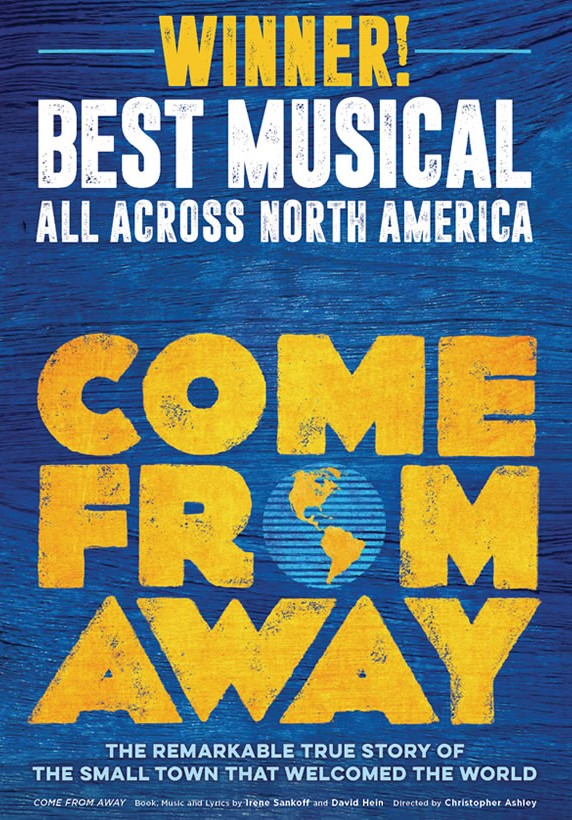 Come from Away kapak