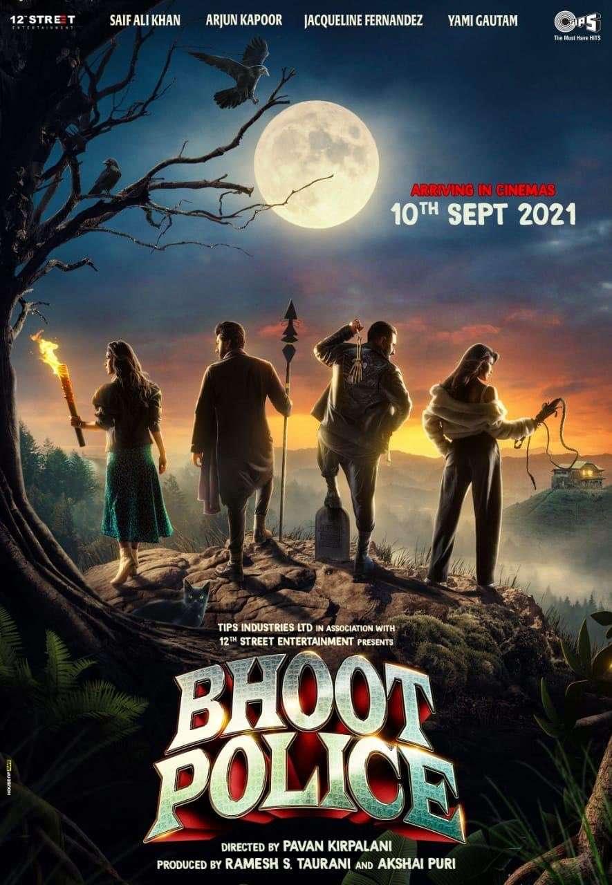 Bhoot Police kapak