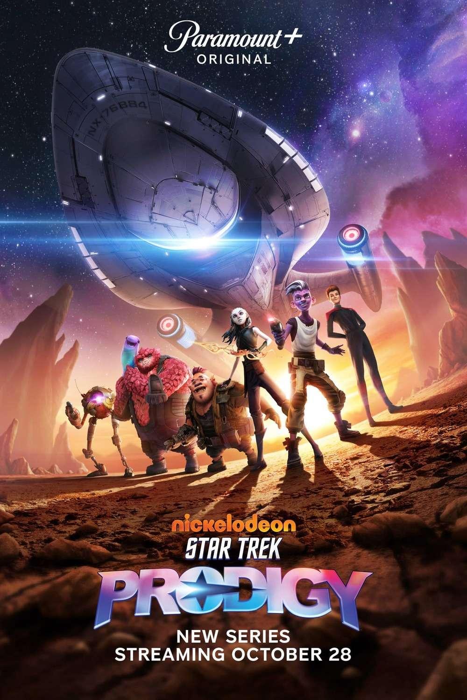 Star Trek: Prodigy kapak