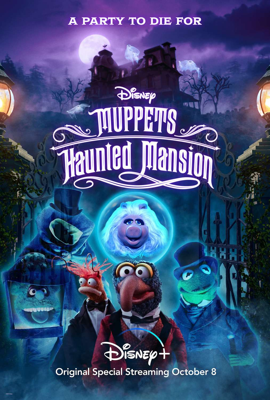 Muppets Haunted Mansion kapak