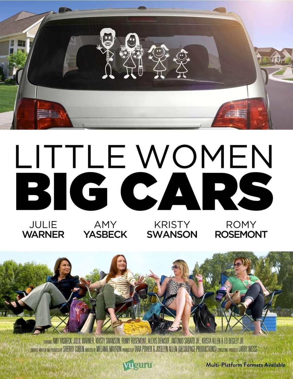 Little Women, Big Cars kapak