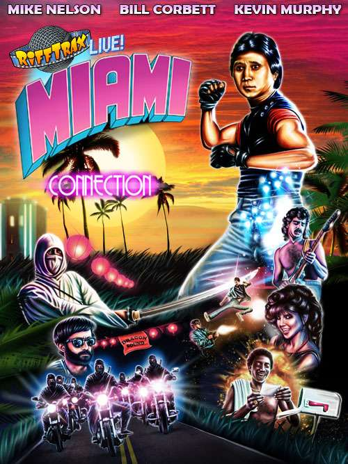 RiffTrax Live: Miami Connection kapak