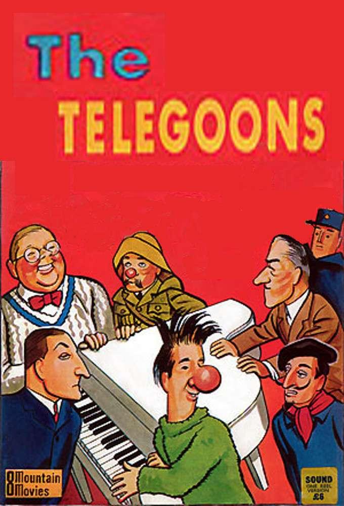 The Telegoons kapak