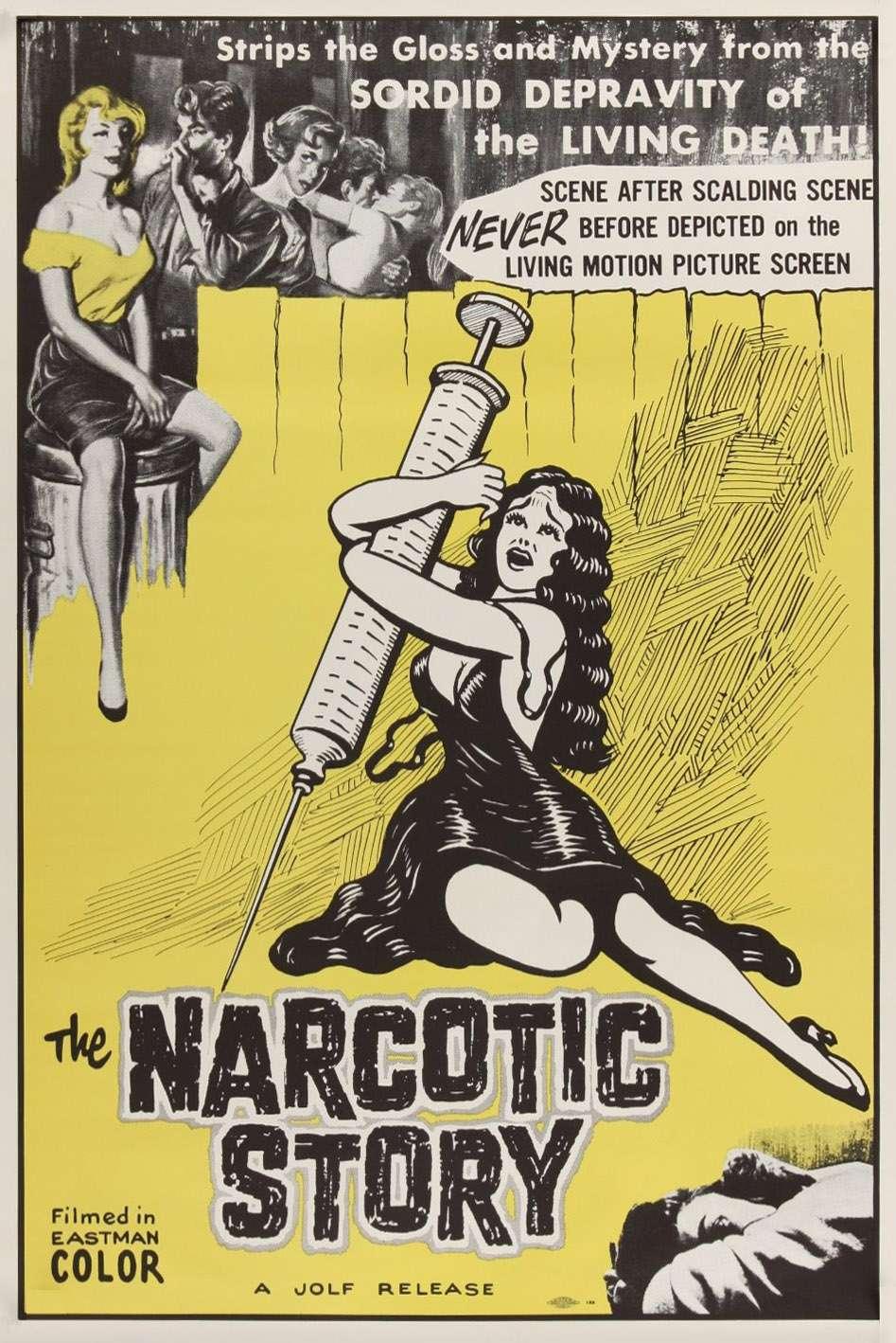 The Narcotics Story kapak