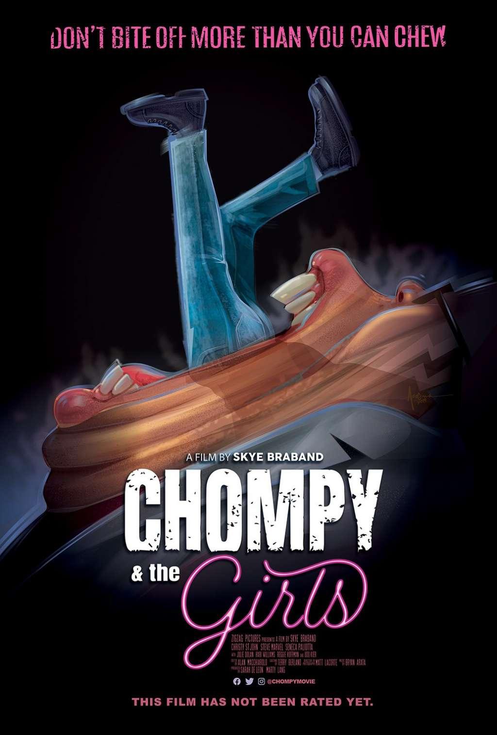 Chompy & The Girls kapak