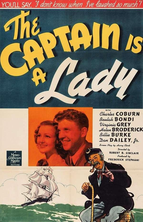 The Captain Is a Lady kapak