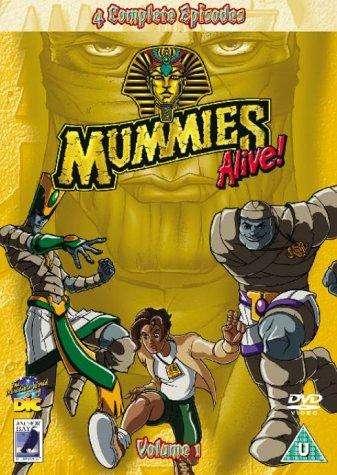 Mummies Alive! kapak