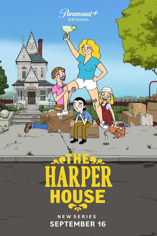 The Harper House kapak