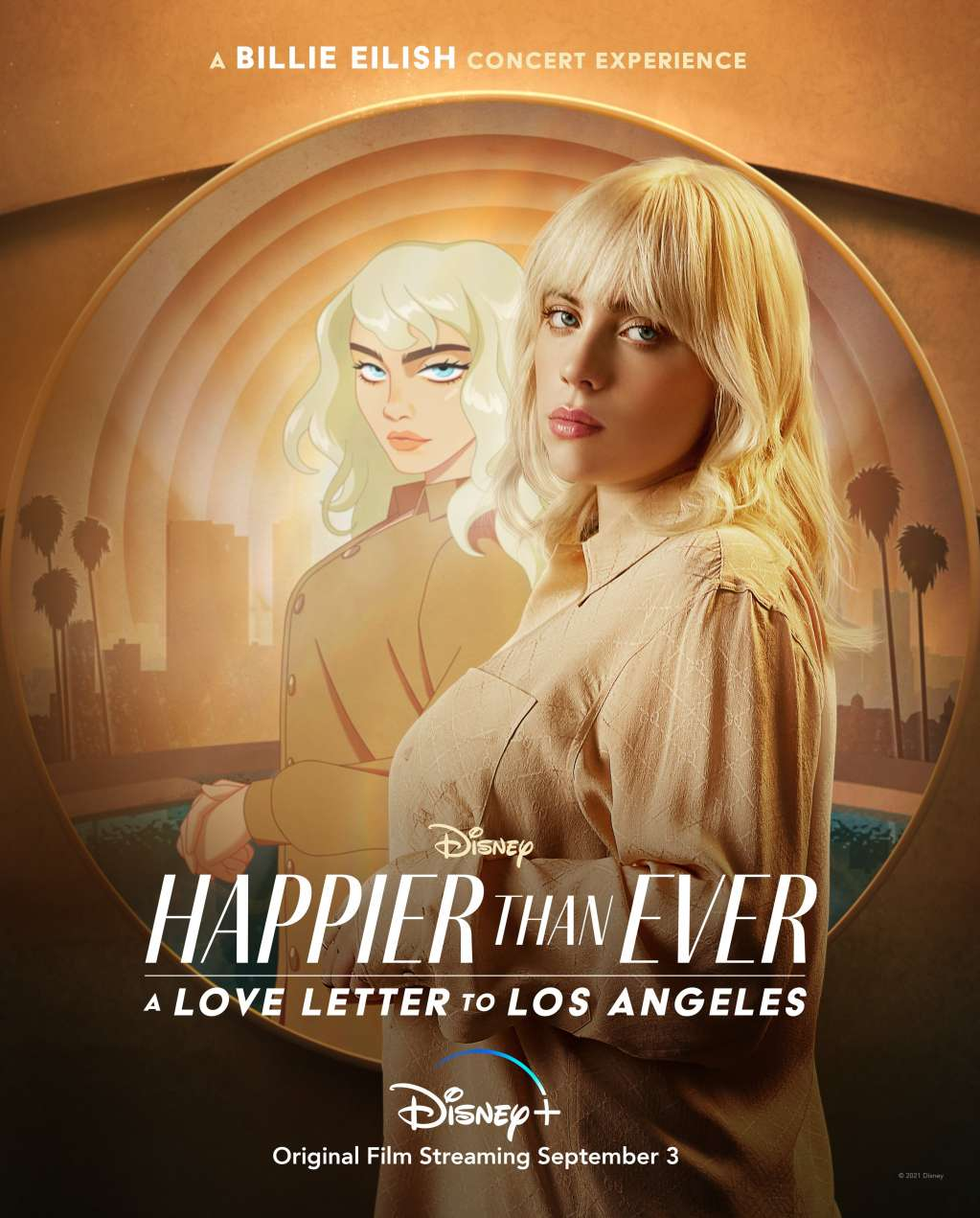 Happier Than Ever: A Love Letter to Los Angeles kapak