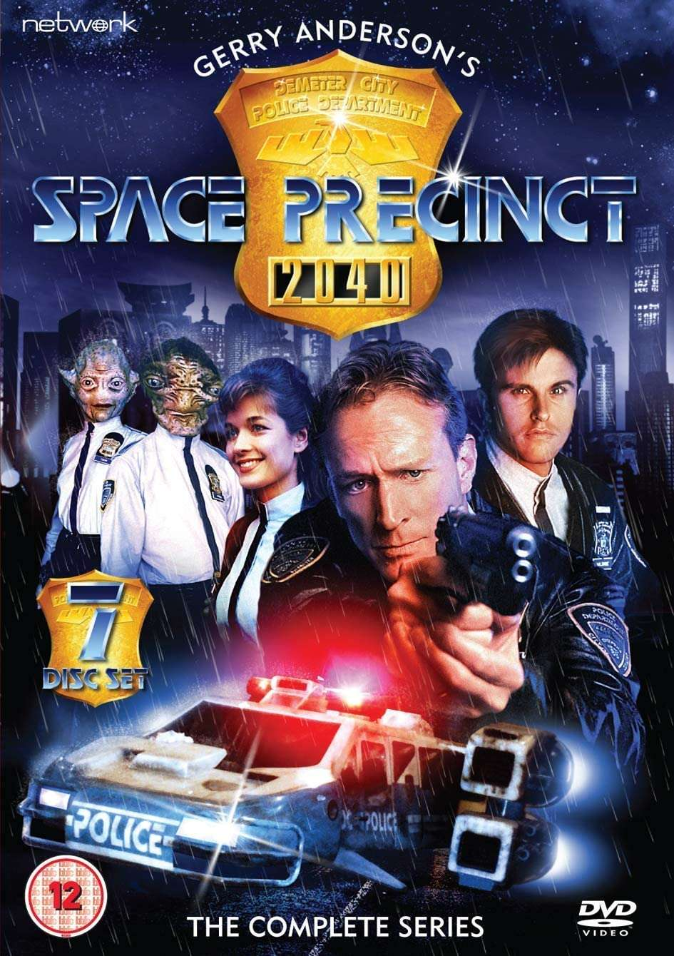 Space Precinct kapak